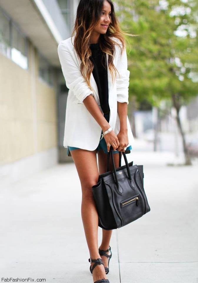 How To Wear De Witte Blazer Fashion Emergency
