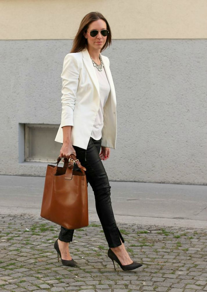 how to wear de witte blazer – fashion emergency