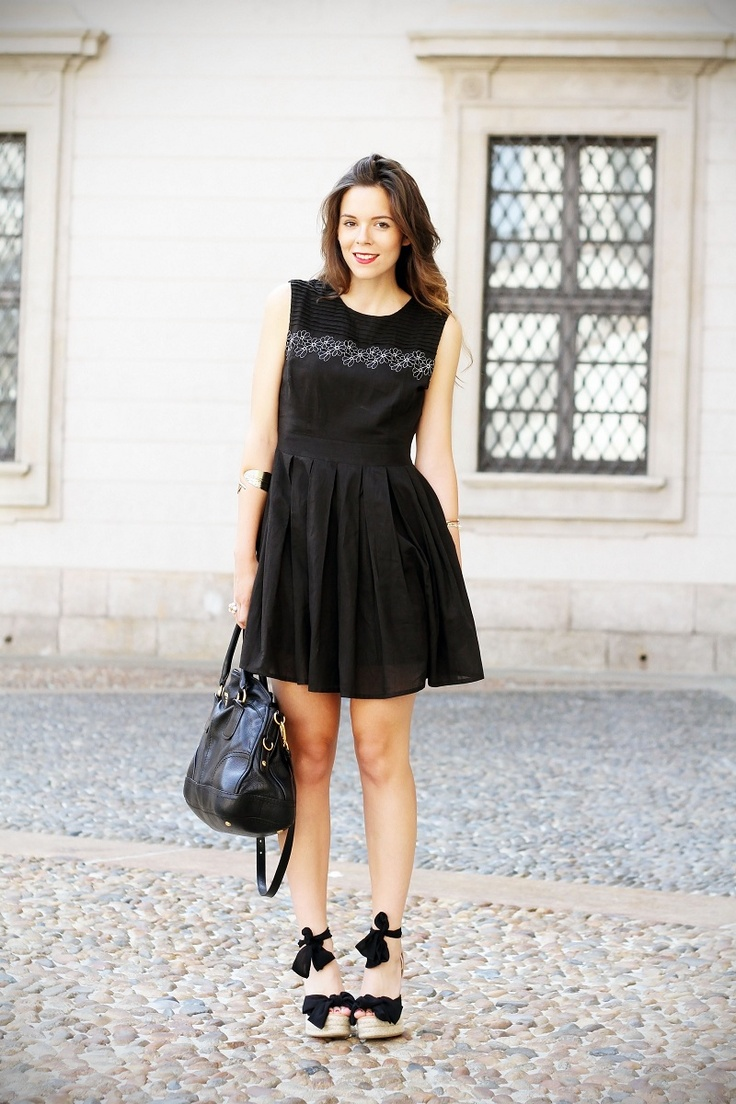 How to wear: the little black dress in summer – Fashion ...